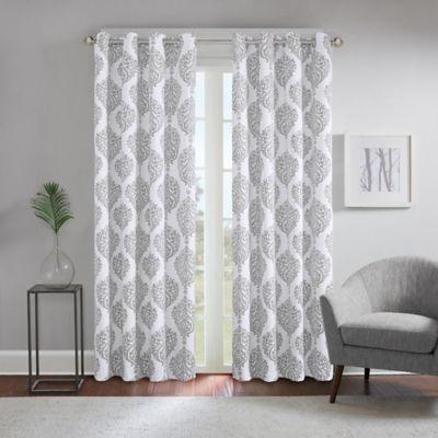 Regency Heights 174 Zion Grommet Top Window Curtain Panel