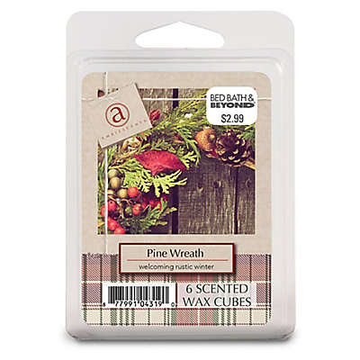Pine Wreath Seasonal Wax Fragrance Cubes