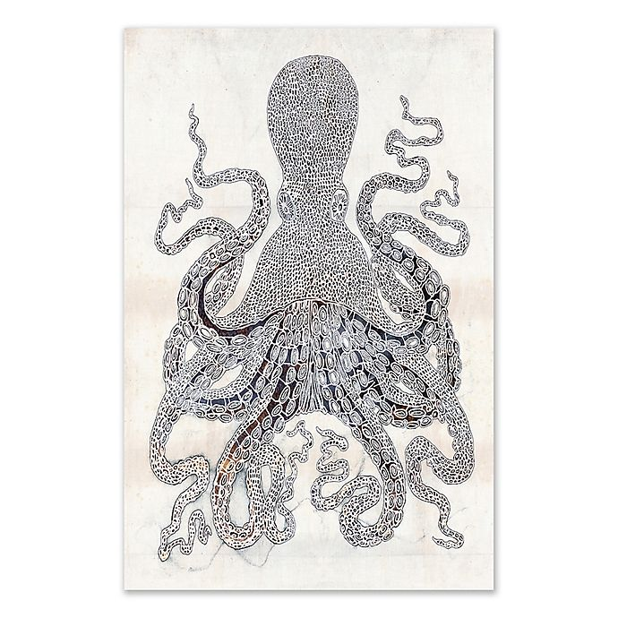 Alternate image 1 for Octopus Canvas Wall Art
