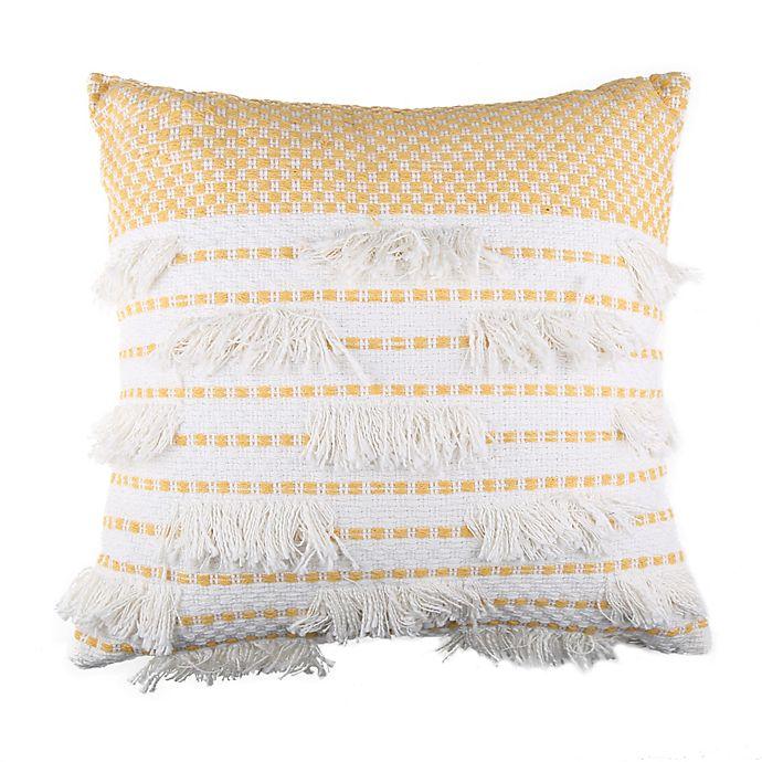 Alternate image 1 for Chennai Throw Pillow in Yellow