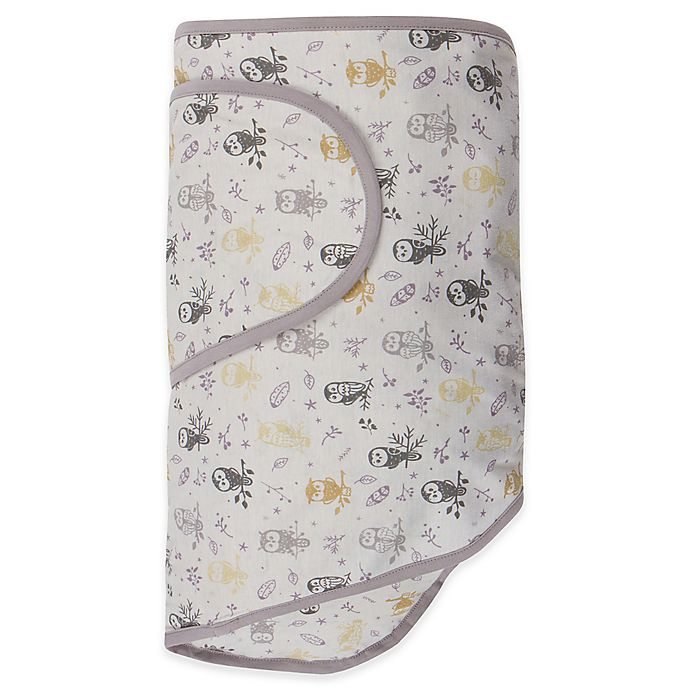 Alternate image 1 for Miracle Blanket® Swaddle in Forest Owls