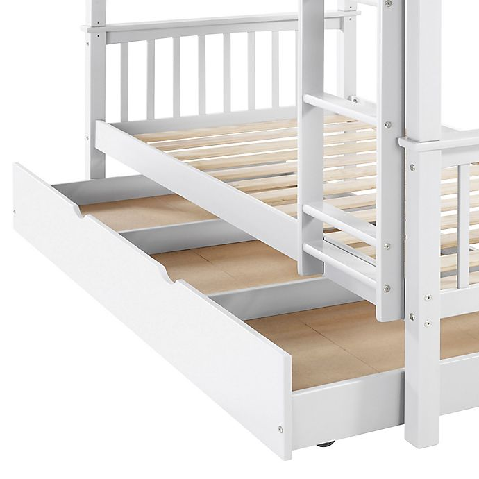 Alternate image 1 for Forest Gate Charlotte Solid Wood Twin Trundle Bed