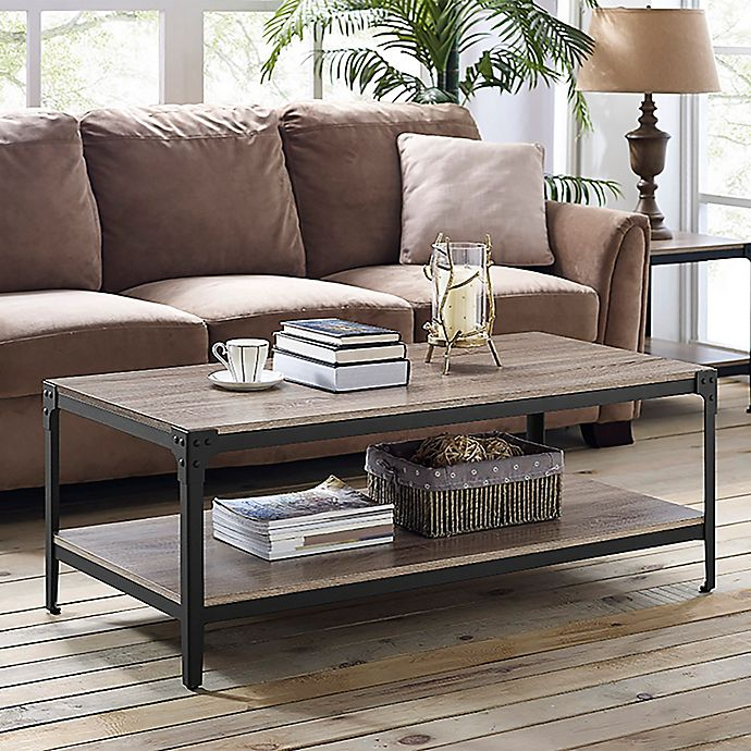 Awesome Forest Gate Wheatland Industrial Modern Wood Coffee Table Gamerscity Chair Design For Home Gamerscityorg