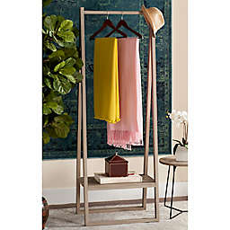 Safavieh Afia Standing Coat Rack in Light Grey