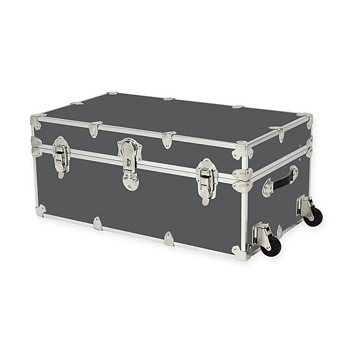 Alternate image 1 for Rhino Trunk and Case™ Large Rhino Armor Trunk with Removable Wheels