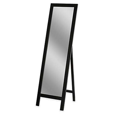 Easel 18-Inch x 64-Inch Floor Mirror in Espresso