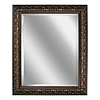 Ornate Framed 28.5-Inch x 34.5-Inch Wall Mirror in Bronze