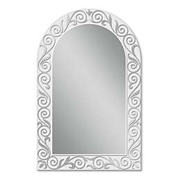 Spring Arch 23-Inch x 35-Inch Mirror in Silver