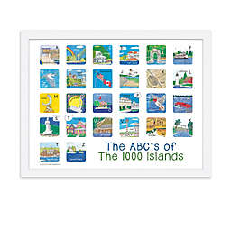 The ABCs of The Thousand Islands 18-Inch x 24-Inch Poster Wall Art