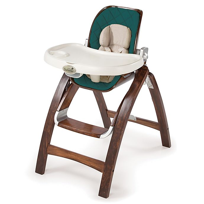Summer Infant Bentwood High Chair In Totally Teal Bed Bath Beyond