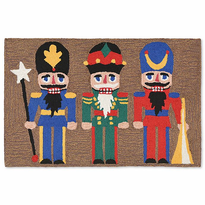 Alternate image 1 for Liora Manne Frontporch Nutcracker 2-Foot x 3-Foot Multicolor Indoor/Outdoor Mat