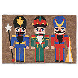 Liora Manne Frontporch Nutcracker Multicolor Indoor/Outdoor Mat
