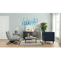 Soft Grey Contemporary Living Room