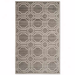 Safavieh Amherst Abigail 6-Foot x 9-Foot Indoor/Outdoor Area Rug in Grey/Light Grey