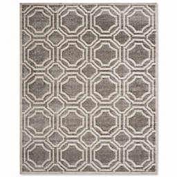 Safavieh Amherst Abigail 8-Foot x 10-Foot Indoor/Outdoor Area Rug in Grey/Light Grey