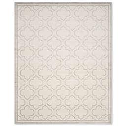 Safavieh Amherst Belle 9-Foot x 12-Foot Indoor/Outdoor Area Rug in Ivory/Light Grey