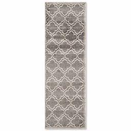 Safavieh Amherst Belle 2-Foot 3-Inch x 15-Foot Indoor/Outdoor Area Rug in Grey/Light Grey