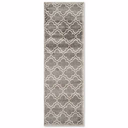Safavieh Amherst Belle 2-Foot 3-Inch x 22-Foot Indoor/Outdoor Area Rug in Grey/Light Grey