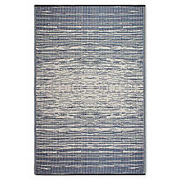 Fab Habitat World Collection Brooklyn Indoor/Outdoor Rug in Blue