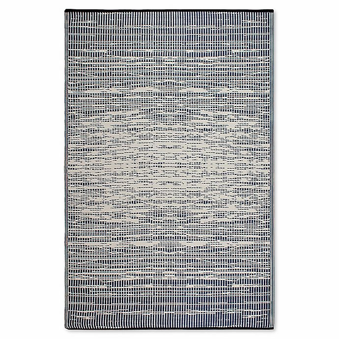Alternate image 1 for Fab Habitat World Collection Brooklyn 6-Foot x 9-Foot Indoor/Outdoor Rug in Blue