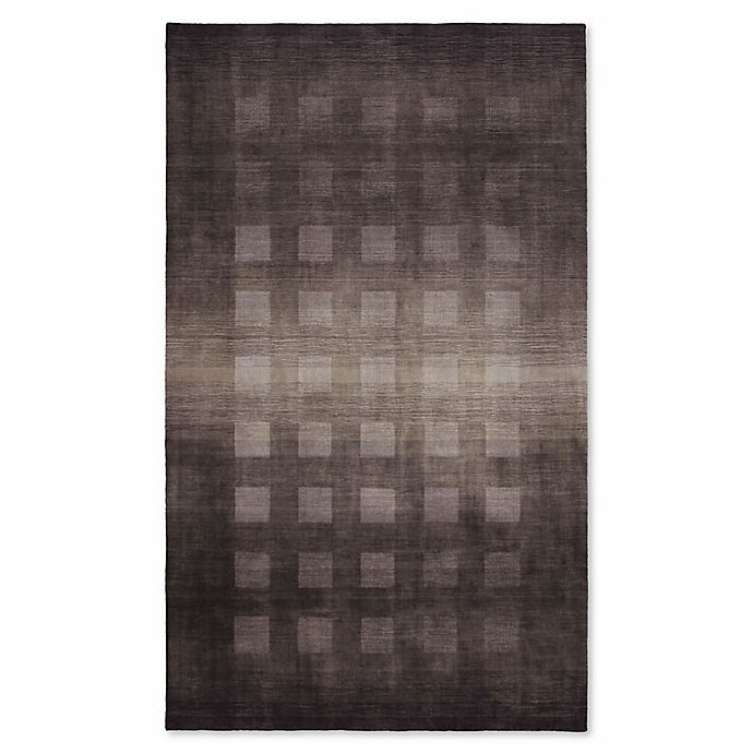 Alternate image 1 for Liora Manne Vienna Ombre Boxes 9-Foot x 12-Foot Area Rug in Charcoal