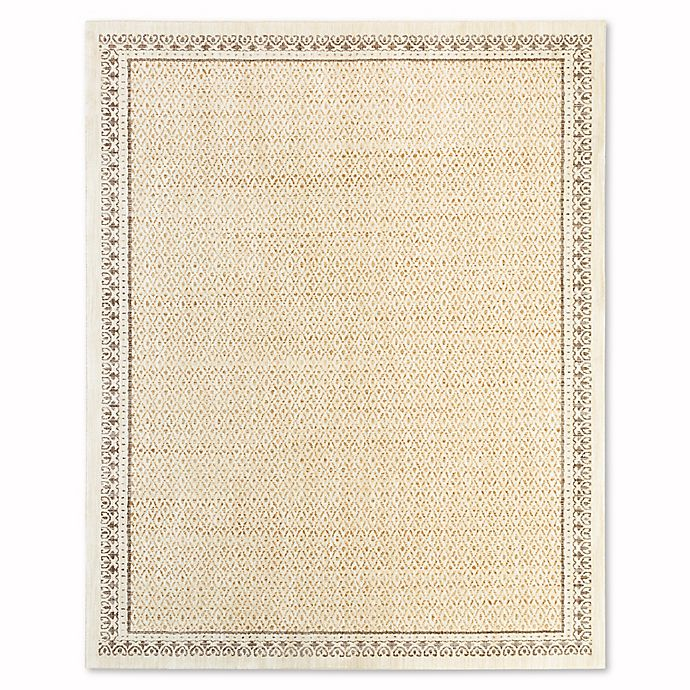 Alternate image 1 for Mohawk® Stardust 8-Foot x 10-Foot Area Rug in Gold