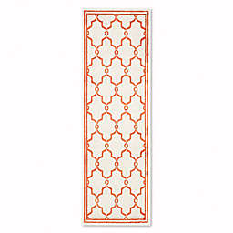 Safavieh Amherst Quake 2-Foot 3-Inch x 7-Foot Indoor/Outdoor Rug in Beige