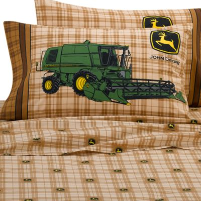 John Deere Twin Sheet Set | Bed Bath & Beyond