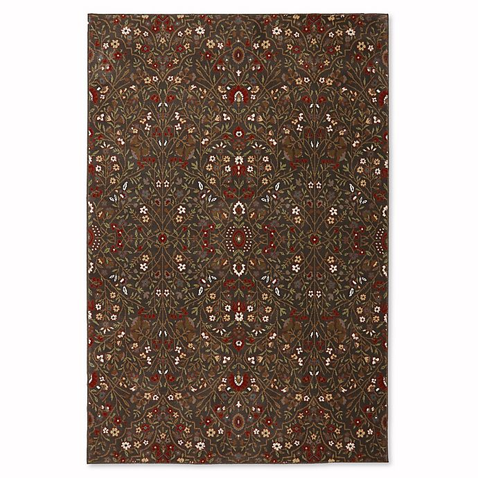 Alternate image 1 for Mohawk Home Symphony 5-Foot 3-Inch x 7-Foot 10-Inch Western Prairie Rug in Saddle
