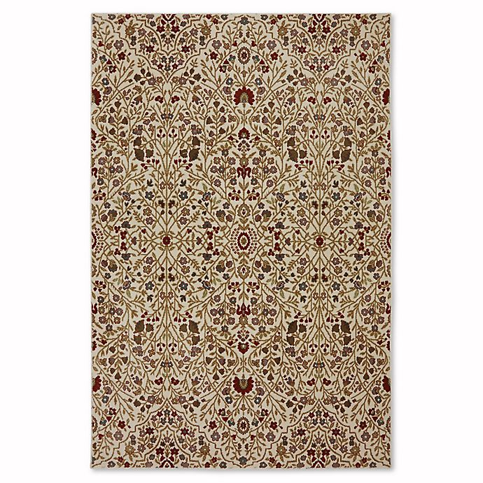Alternate image 1 for Mohawk Home Symphony 5-Foot 3-Inch x 7-Foot 10-Inch Western Prairie Rug in Ivory