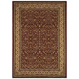 Home Dynamix Regency Floral Border 9-Foot 2-Inch x 12-Foot 5-Inch Area Rug