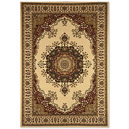 Home Dynamix Regency Center Floral Wreath 9-Foot 2-Inch x 12-Foot 5-Inch Area Rug