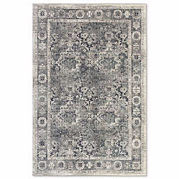 Mohawk Fair Point 5-Foot 3-Inch x 7-Foot 10-Inch Area Rug in Blue