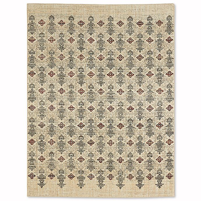 Alternate image 1 for Mohawk Jago 8-Foot x 10-Foot Area Rug in Beige
