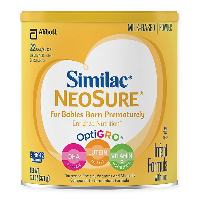 Alternate image 1 for Similac® Expert Care NeoSure® 13.1 oz.  Powder Formula Can