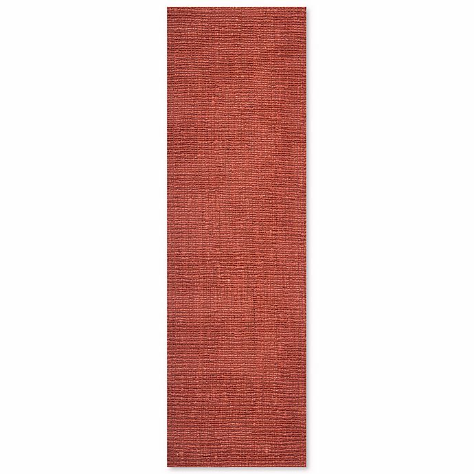 Alternate image 1 for Safavieh Natural Fiber Mallory 2-Foot 6-Inch x 12-Foot Runner in Rust