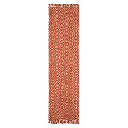 Safavieh Natural Fiber Skylar 2-Foot 6-Inch x 22-Foot Runner in Rust