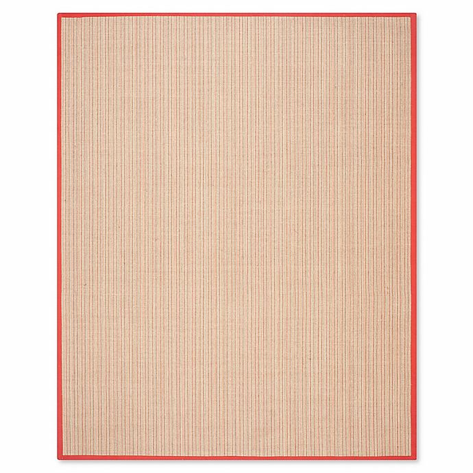 Alternate image 1 for Safavieh Natural Fiber Courtney 8-Foot x 10-Foot Area Rug in Rust