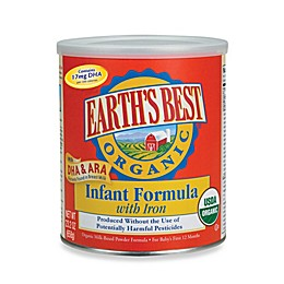Earth's Best Organic Infant Powdered Formula with DHA and ARA with Iron - 23 Ounces