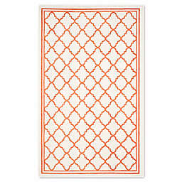 Safavieh Amherst Quine 4-Foot x 6-Foot Indoor/Outdoor Area Rug in Beige