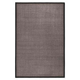 Safavieh Natural Fiber Madeline 6-Foot x 9-Foot Area Rug in Charcoal/Charcoal