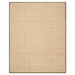 Safavieh Natural Fiber Johanna 8-Foot x 10-Foot Area Rug in Natural/Olive