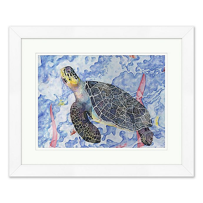 Buy Tropical Turtle 2 Wall Art From Bed Bath & Beyond
