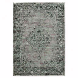 Safavieh Vintage Gemma 5-Foot x 3-Inch x 7-Foot 6-Inch Area Rug in Light Blue