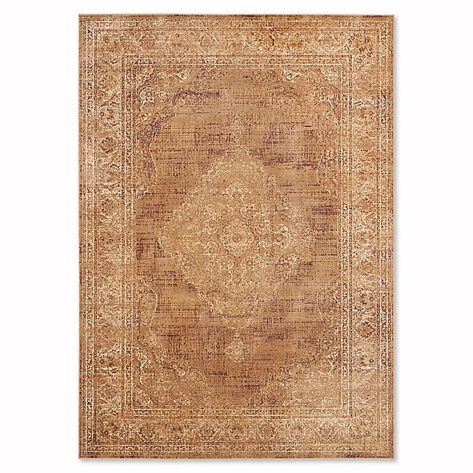 Alternate image 1 for Safavieh Vintage Gemma 8-Foot 10-Inch x 12-Foot x 2-Inch Area Rug in Taupe
