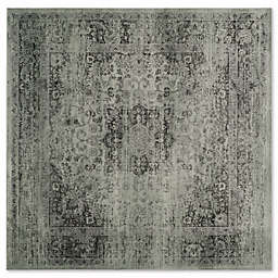 Safavieh Vintage Palace 6-Foot Square Area Rug in Spruce/Ivory