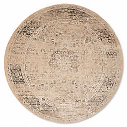 Safavieh Vintage Palace 8-Foot Round Area Rug in Beige