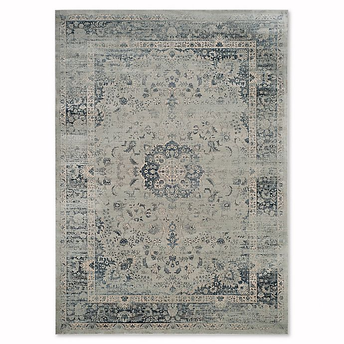 Alternate image 1 for Safavieh Vintage Palace 8-Foot 10-Inch x 12-Foot 2-Inch Area Rug in Light Blue