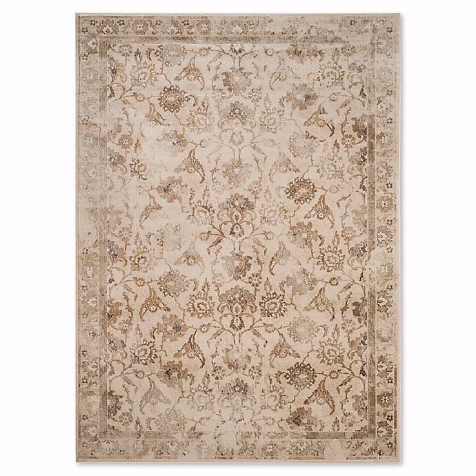 Alternate image 1 for Safavieh Vintage Nara 8-Foot 10-Inch x 12-Foot 2-Inch Area Rug in Stone
