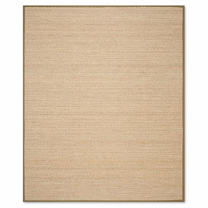 Alternate image 1 for Safavieh Natural Fiber 6-Foot x 9-Foot Mackenzie Area Rug in Natural/Olive